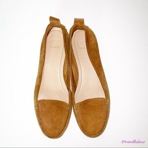 GIANNI BINI | Suede Brown Loafer/Flats